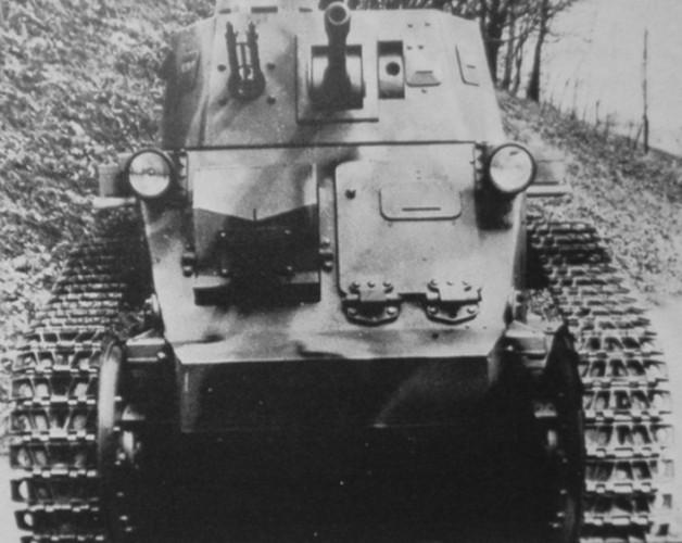 Straussler V-4 второй вариант