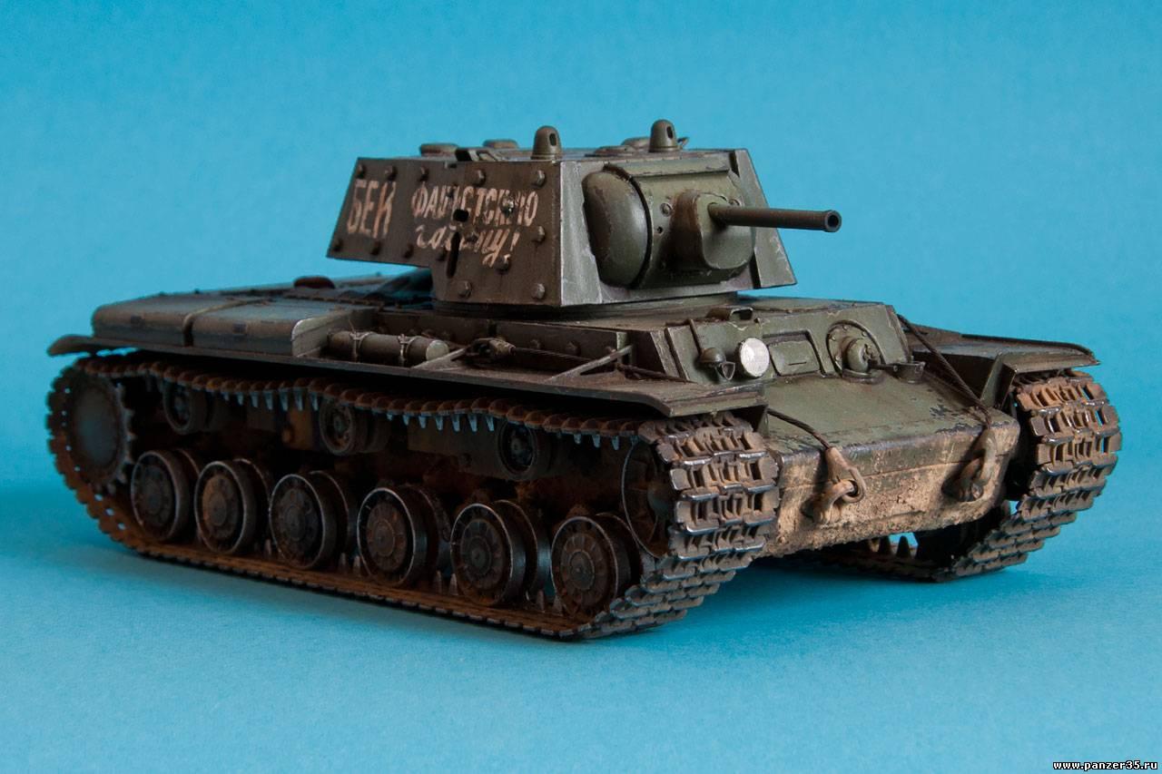 Фото модель танка кв 1