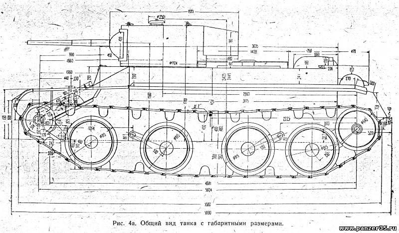 1935 года - Танк БТ-5 .
